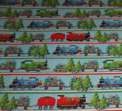 WRAPPING PAPER THOMAS THE TANK TRAIN 3.33FT x 6FT CHRISTMAS ENGINE LITTLE TRACK