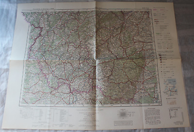 Map Outline Map of Central Europe 1:3 00000 K 50 Trier