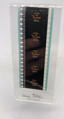 Disney THE TIGGER MOVIE Authentic Animation Film 5-Cells Strip TITLE FRAME