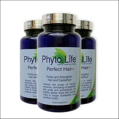 Regrow hair Proven Perfect hair Vitamin healthy shiny X3 replace Phytophanere