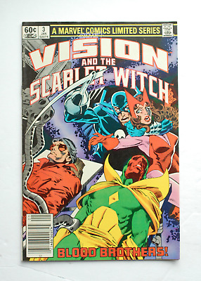 Vision and the Scarlet Witch - Vintage Comic Book - Marvel - Vol1 No.3, Jan 1983