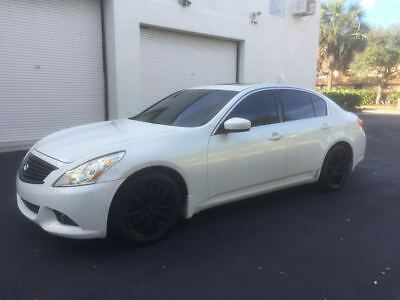 2010 Infiniti G37 Sedan 2010 Infiniti G37 Sedan Fully Loaded Garage Kept Wel Maintained FREE SHIPPING!