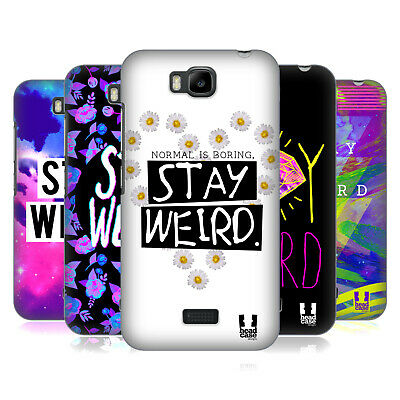 Head Case Designs Stay Weird Back Case For Huawei Phones 2