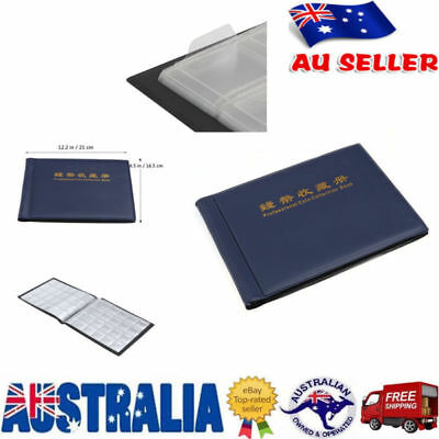 240 Slots Coin Holder Album Money Penny Collecting Pocket Storage Folder Book AU