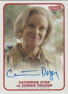 CATHERINE DYER as CONNIE FRAZIER 2018 STRANGER THINGS AUTOGRAPH