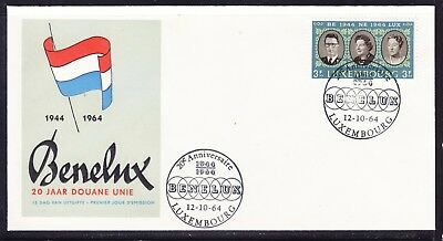 Luxembourg 1964 Royal family First Day Cover Unaddressed