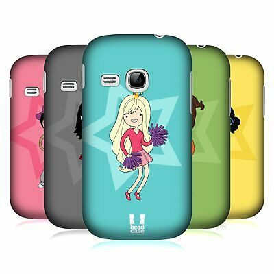 Head Case Designs Female Teen Personalities Hard Back Case For Samsung Phones 5