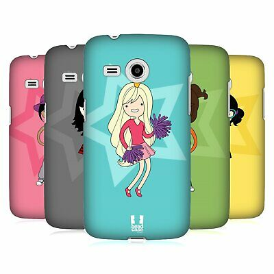 Head Case Designs Female Teen Personalities Hard Back Case For Samsung Phones 6