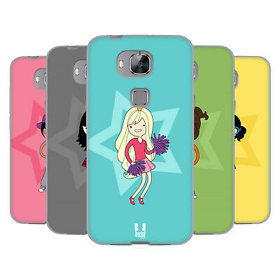 Head Case Designs Female Teen Personalities Soft Gel Case For Huawei Phones 2