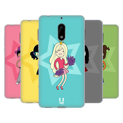 Head Case Designs Female Teen Personalities Soft Gel Case For Nokia Phones 1