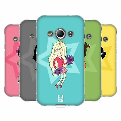 Head Case Designs Female Teen Personalities Soft Gel Case For Samsung Phones 4