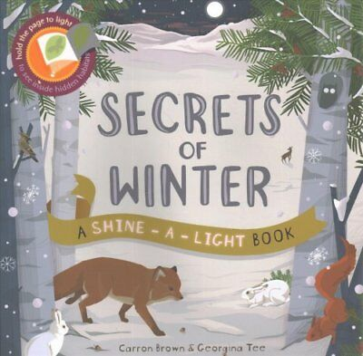 Secrets of Winter: A Shine-a-light book by Georgina Tee, Carron Brown...