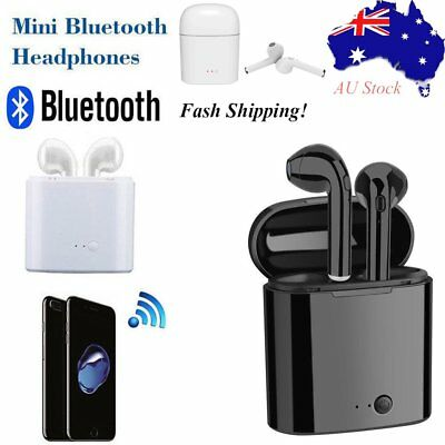 In-ear USB Connector Wireless Ear Pods Earphones/Headphones Bluetooth w/ mic AU