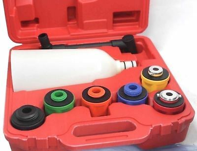 8PCS Oil Funnel Filling Kit & Adapters 4 Domestic or Import Auto No Spillage