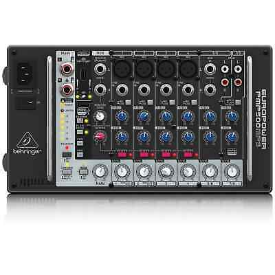 Behringer PMP500MP3 500W PA Mixer With Effects