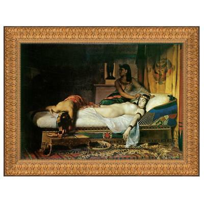 Design Toscano The Death of Cleopatra, 1874: Canvas Replica Painting: Small