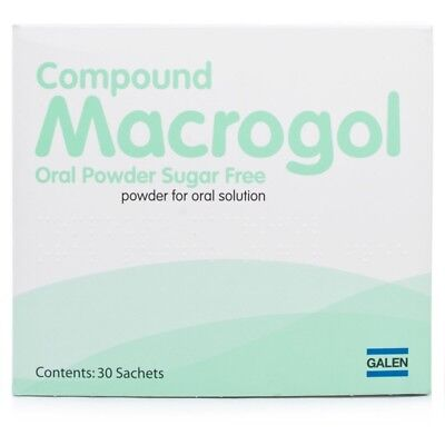 MACROGOL COMPOUND SACHETS ~ 28 SACHETS  gentle laxative for constipation relief