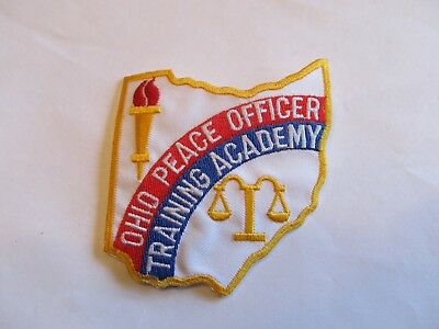 Ohio State Peace Officers Academy Patch