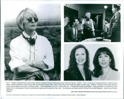 """Scenes from the movie """"Unstrung Heroes"""" 1995 - Vintage photo"""