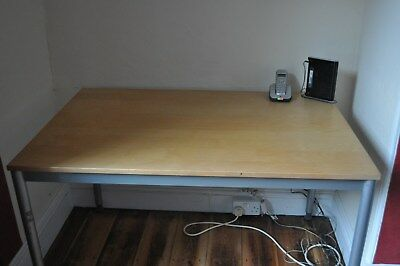 large Beech top Office desk