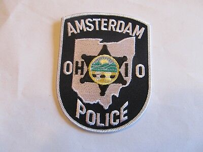 Ohio Amsterdam Police Patch