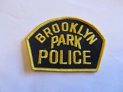 Ohio Brooklyn Park Police Patch Old Cheese Cloth