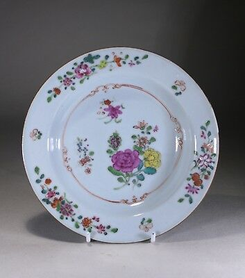 Antique Chinese Porcelain Famille Rose Bowl Qianlong Period