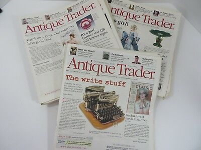Antique Trader Publication Back Issues 2008-2009 Lot of 34 #7640