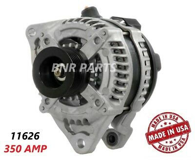 350 AMP 11626 Alternator Ford Mustang 5.0L High Output Performance HD Large Body