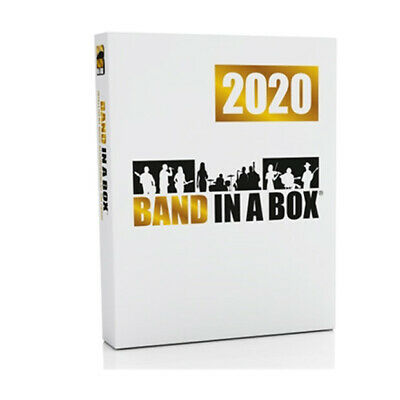 PG Music Band in a Box Pro 2020 Windows Upgrade from 2019