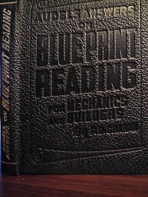 audels answers on blue print reading for mecchanics and builders by f.d.graham