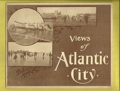 1909 Photograph Souvenir VIEWS OF ATLANTIC CITY