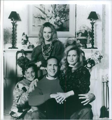 Juliette Lewis, Johnny Galecki, Chevy Chase and Beverly D'Angelo in poster of th