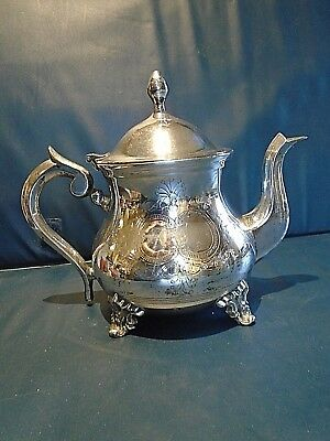 Vintage Silver Plated Teapot. Nice Condition.