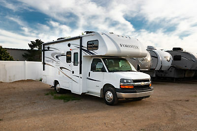 2016 Forester 2251SLE Class C Motorhome RV Bed Slide Chevy Chassis Sale Price