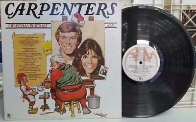 The Carpenters - Christmas Portrait LP STEREO HOLIDAY A&M SP-4726