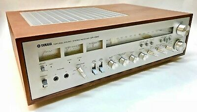 Beautiful Vintage Yamaha CR-1020 Natural Sound Stereo Receiver*READ DESCRIPTION*