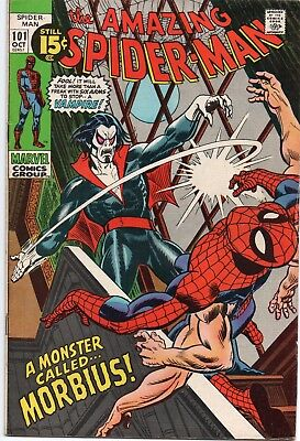 Amazing Spiderman #101  First Appearance of Morbius CGC Worthy ONE TIME LISTING
