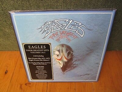 THE EAGLES Their Greatest Hits 1 & 2 two lp set