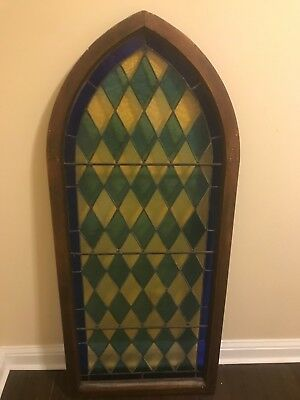 Antique Gothic Church Stained Glass Windows Architectural