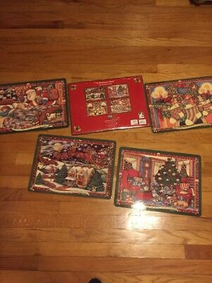 Portmeirion Christmas Story Placemats Set Of 4