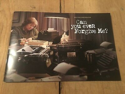Can You Ever Forgive Me? For Your Consideration Press Booklet