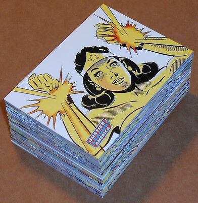 Justice League of America Archives (2009) ~ COMPLETE 72-CARD BASE SET