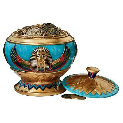 Design Toscano Pharaoh's Treasure Offering Vessel