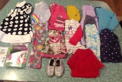 Lot Of 16 Pieces Baby Toddler Girls Size 12-18m Winter Clothes