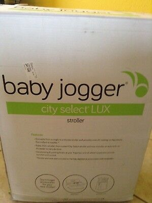 Baby Jogger City Select Lux Stroller In Ash