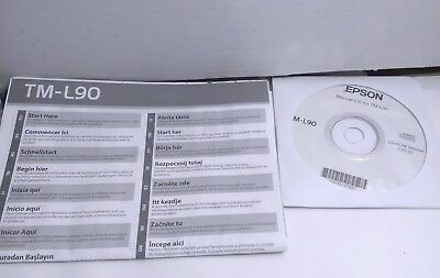 Epson TM-L90 Thermal POS Cd and Instillation Manual