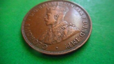 1922 Common Wealth of Australia One Penny Coin
