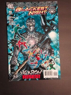DC COMICS BLACKLIST NIGHT #5 VF/NM  Nekron Rises