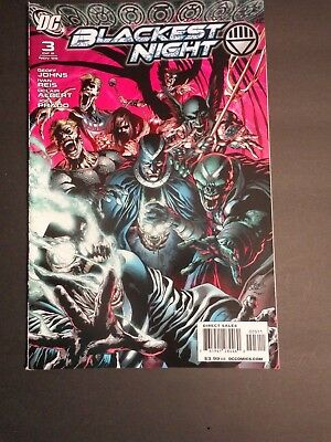 Dc Comics Blackest Night #3 Geoff Johns Ivan Reis